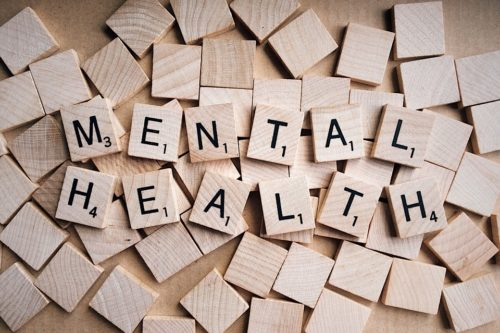 Mental health tiles used in board games